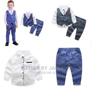 Big Boy Birthday Set With Waistcoat | Children's Clothing for sale in Lagos State, Alimosho