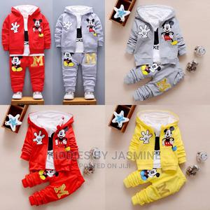 Boy Girl Mickey Mouse Tracksuit | Children's Clothing for sale in Lagos State, Alimosho