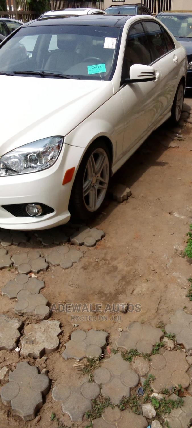 Mercedes-Benz C300 2010 White | Cars for sale in Ogba, Lagos State, Nigeria
