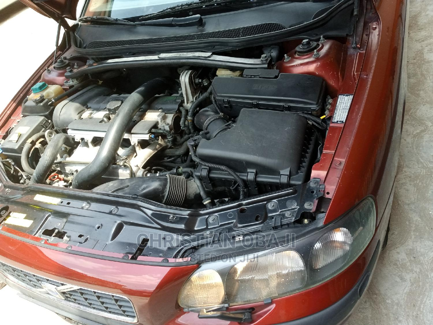 Archive: Volvo S60 2004 2.5 R Red