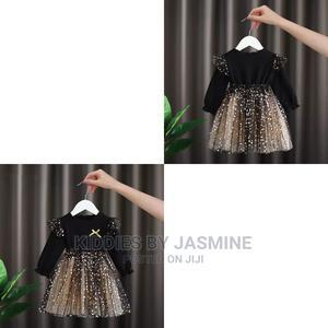 Girl Star Shimmer Dress   Children's Clothing for sale in Lagos State, Alimosho