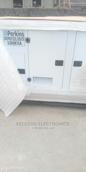 Original Perkins 100kva Soundproof Diesel Generator | Electrical Equipment for sale in Lagos State, Ikeja