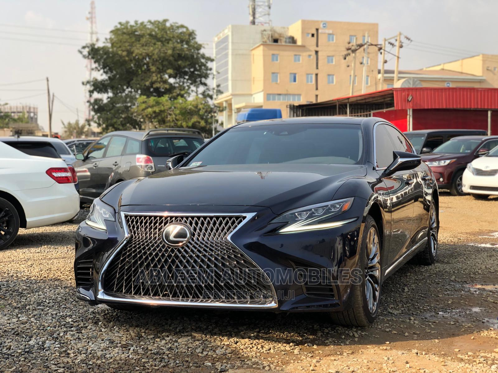 Lexus LS 2020 Black