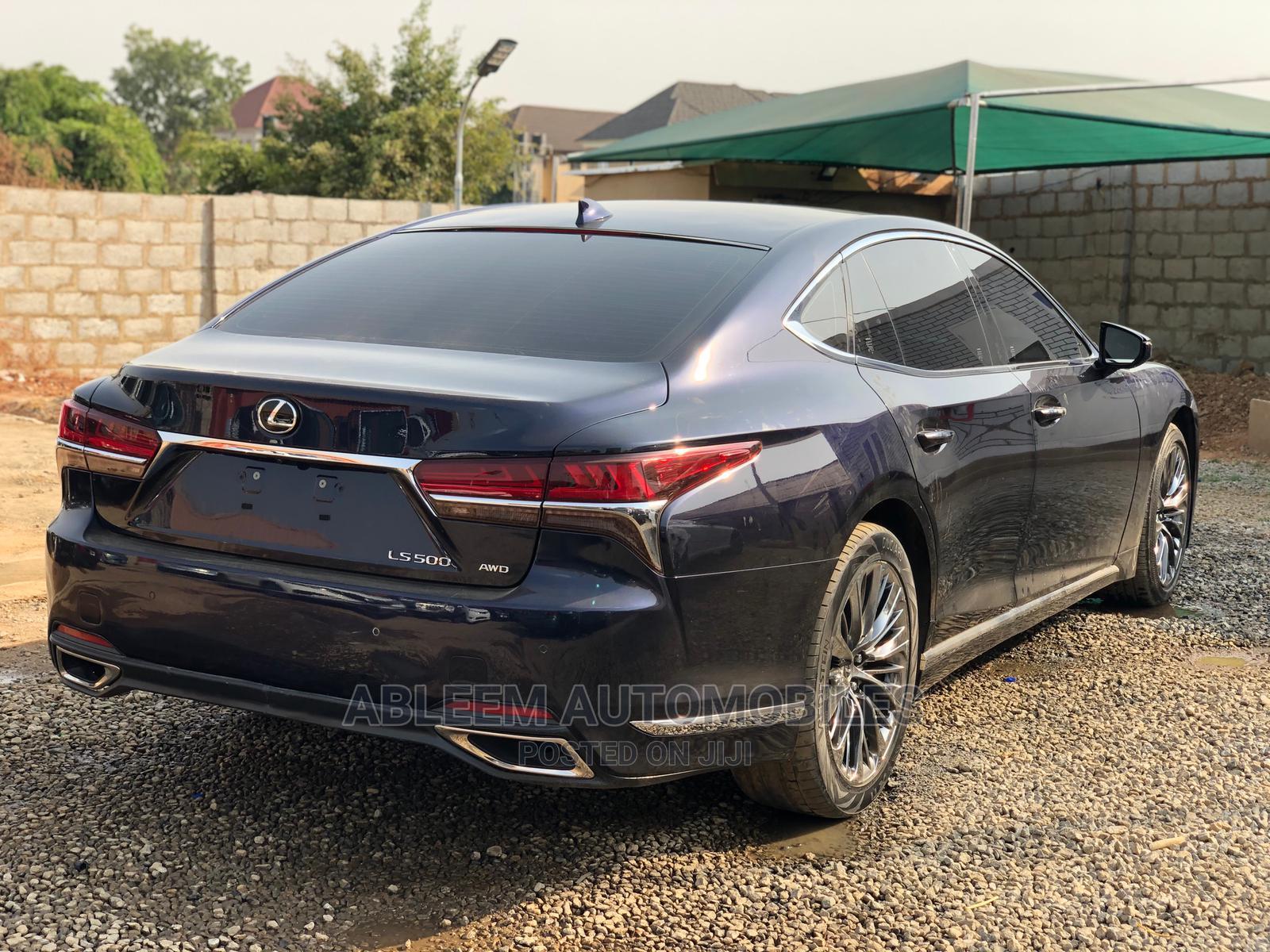 Lexus LS 2020 Black   Cars for sale in Mabushi, Abuja (FCT) State, Nigeria