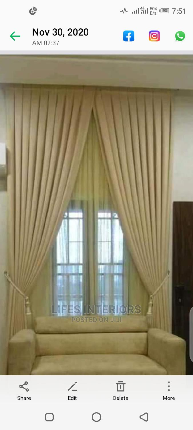 Top Notch Designs, Quality Beautiful Curtains Available | Home Accessories for sale in Lekki, Lagos State, Nigeria