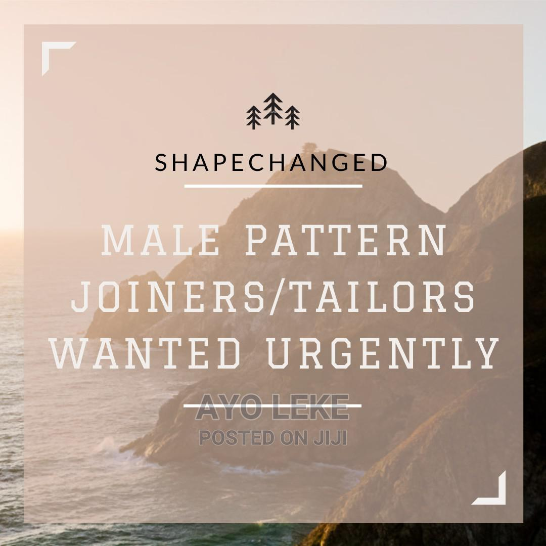 Tailors / Pattern Joiners wanted