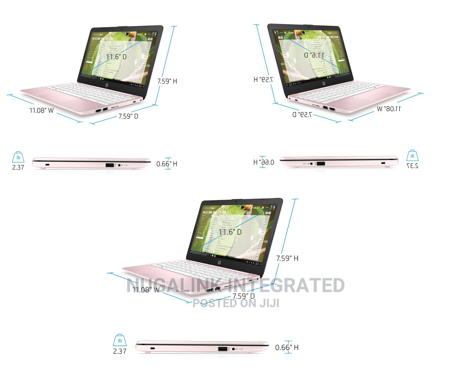 New Laptop HP Stream 11 4GB Intel Celeron SSD 60GB | Laptops & Computers for sale in Ikeja, Lagos State, Nigeria
