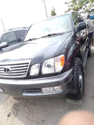 Lexus LX 2009 570 Black   Cars for sale in Lagos State, Apapa