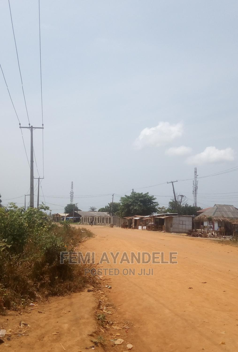 Four Plot of Land for Sale Along the Road