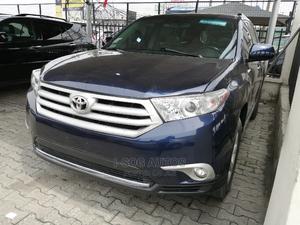Toyota Highlander 2013 Limited 3.5L 2WD Blue | Cars for sale in Lagos State, Lekki
