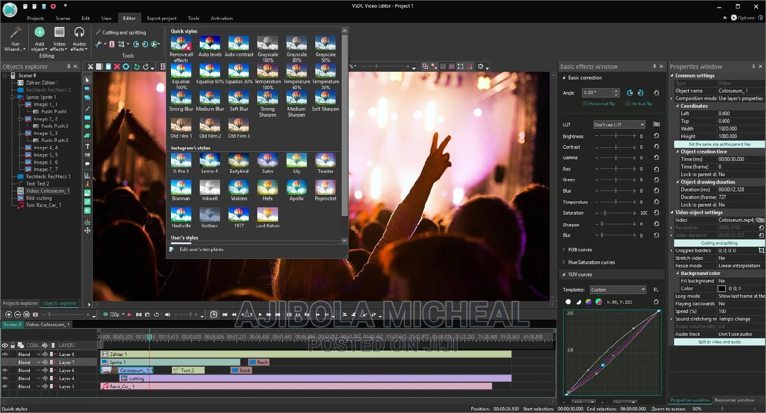 Video Editor | Photography & Video Services for sale in Ikeja, Lagos State, Nigeria