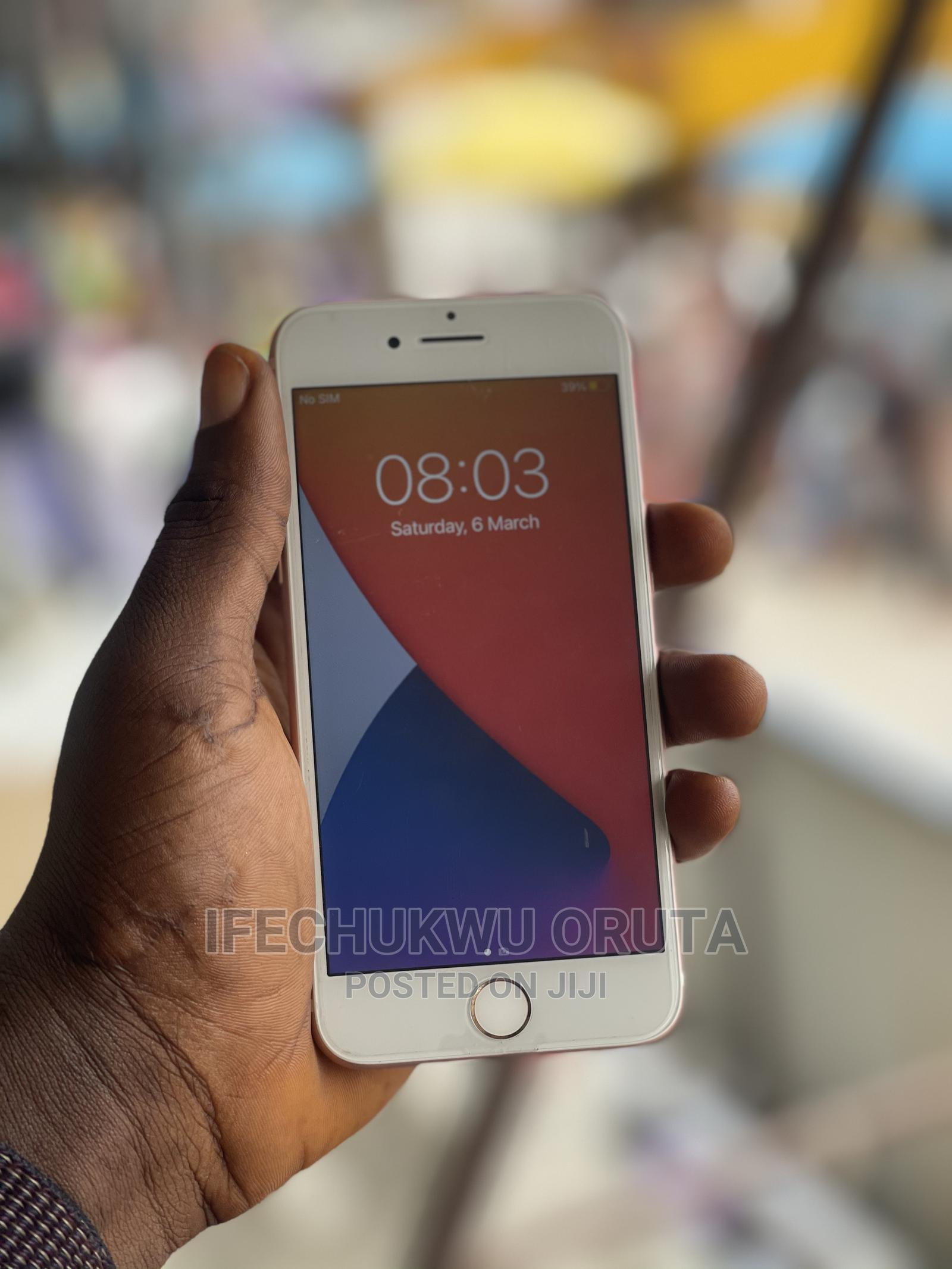 Apple iPhone 7 128 GB Gold   Mobile Phones for sale in Ikeja, Lagos State, Nigeria
