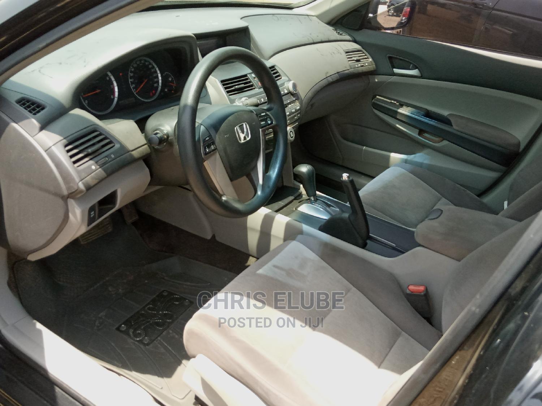 Honda Accord 2008 2.4 EX Automatic Black | Cars for sale in Lokogoma, Abuja (FCT) State, Nigeria