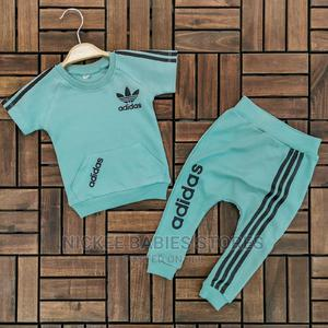 Adidas Baby Boy Vest & Joggers | Children's Clothing for sale in Lagos State, Alimosho