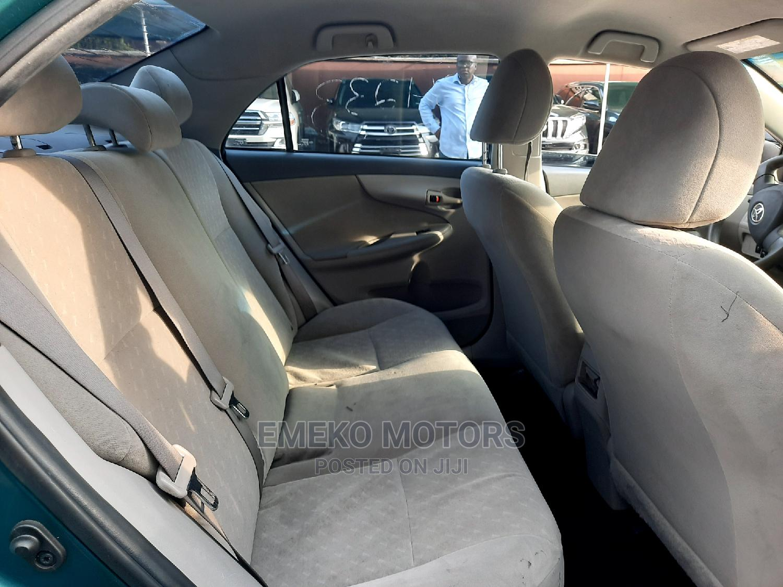 Toyota Corolla 2010 Green | Cars for sale in Amuwo-Odofin, Lagos State, Nigeria