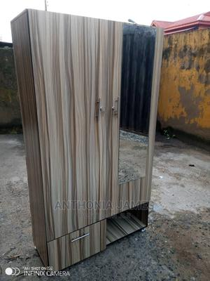 Wardrobe With Mirror   Furniture for sale in Lagos State, Ikeja