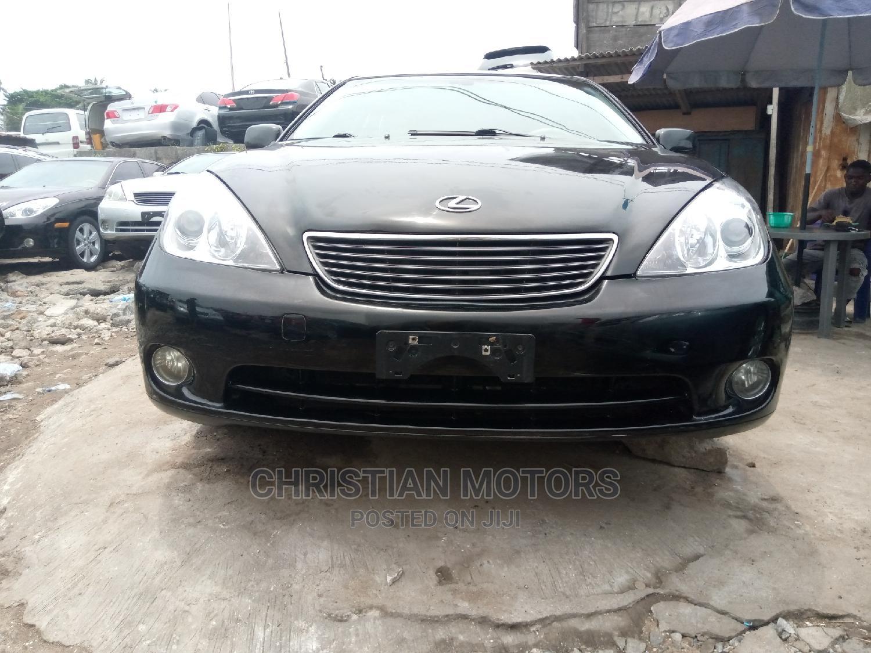 Lexus ES 2006 Black