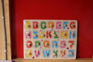Toddler 26 Letters Wooden Alphabet Puzzle Board Learning Toy | Toys for sale in Abuja (FCT) State, Gwarinpa