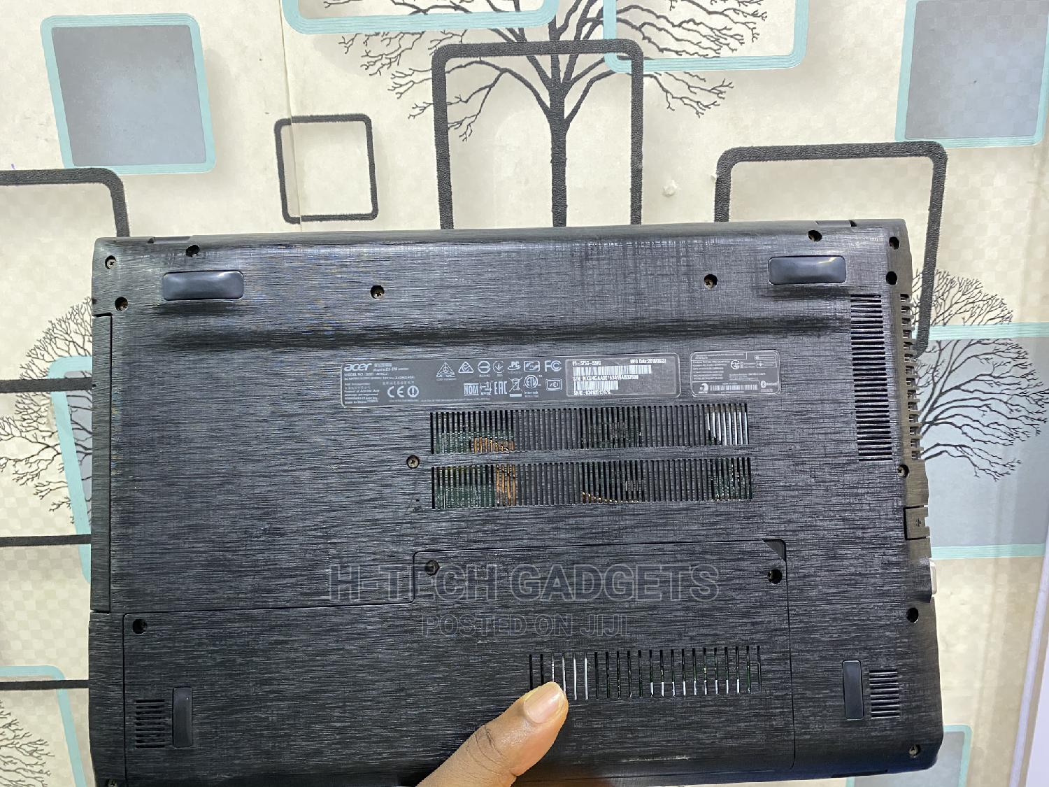 Laptop Acer Aspire E5-575g 8GB Intel Core I5 SSD 256GB   Laptops & Computers for sale in Ikeja, Lagos State, Nigeria