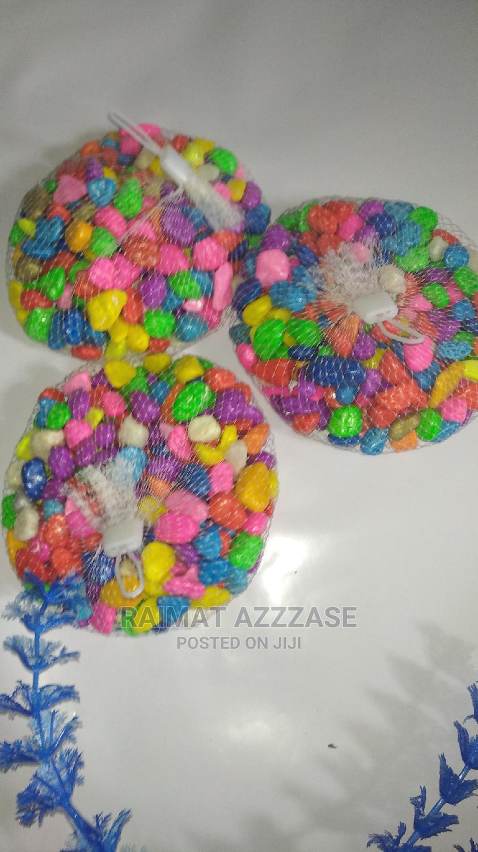 Mixed Color Pebbles For Aquarium