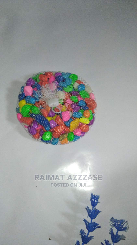 Mixed Color Pebbles For Aquarium | Fish for sale in Surulere, Lagos State, Nigeria