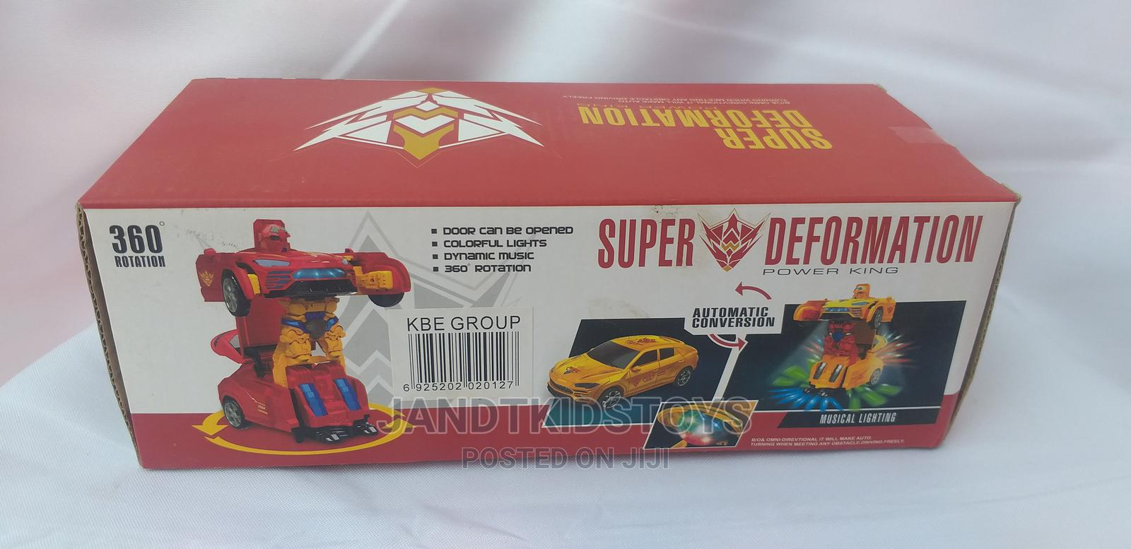Deformation Toy Car Automatic Conversion Kids Gift Pack | Toys for sale in Gwarinpa, Abuja (FCT) State, Nigeria