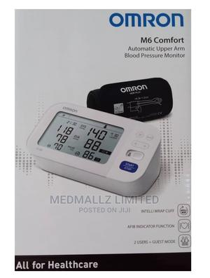 Omron M6 Comfort Automatic Upper Arm Blood Pressure Monitor | Medical Supplies & Equipment for sale in Akwa Ibom State, Uyo