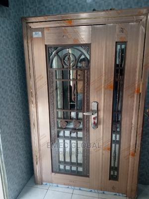 4ft Quality German Copper Door in Door Glass Door | Doors for sale in Lagos State, Orile