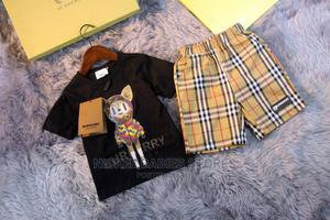 WHOLESALE RETAIL Burberry Tshirt and Shorts | Children's Clothing for sale in Lagos State, Alimosho