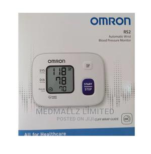 Omron RS2 Automatic Wrist Blood Pressure Monitor | Medical Supplies & Equipment for sale in Akwa Ibom State, Uyo