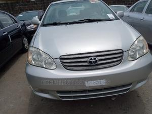 Toyota Corolla 2004 1.4 Silver | Cars for sale in Lagos State, Apapa