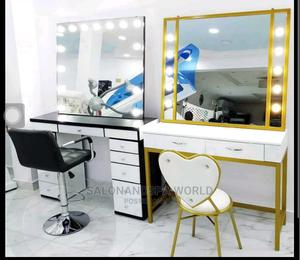 Set of Makeup Light and Chair | Salon Equipment for sale in Lagos State, Lagos Island (Eko)