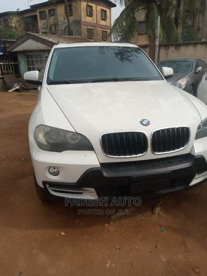 BMW X5 2008 3.0i Steptronic White | Cars for sale in Lagos State, Ikeja
