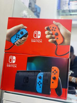 Nintendo Switch With Neon Blue And Red Controller | Video Game Consoles for sale in Lagos State, Ikeja