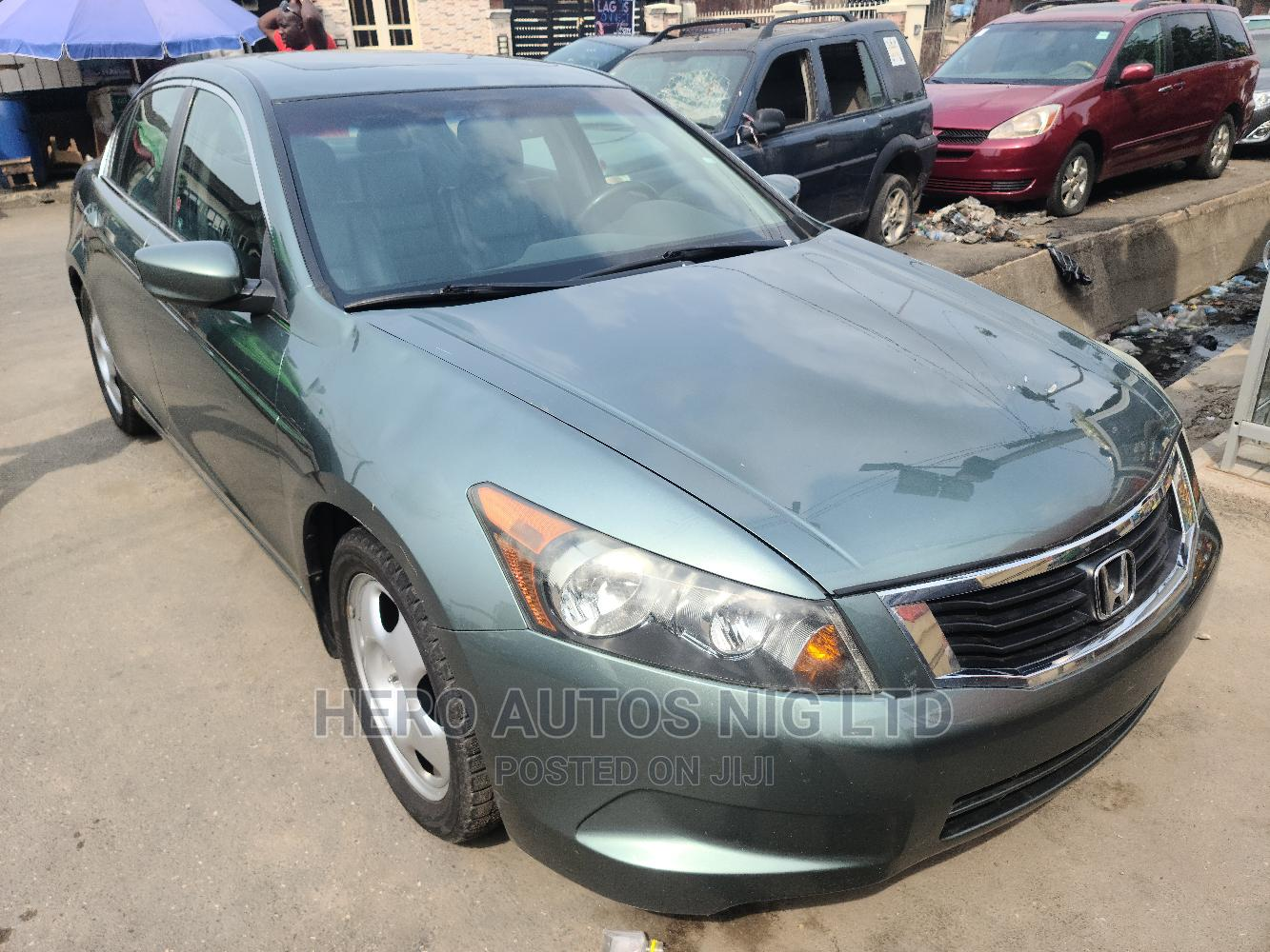 Archive: Honda Accord 2008 2.4 EX Automatic Green
