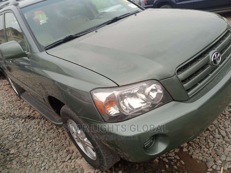 Archive: Toyota Highlander 2006 Green