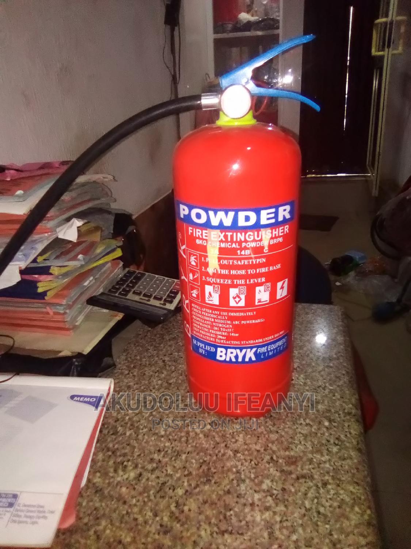 6 Kg Dcp Fire Extinguisher