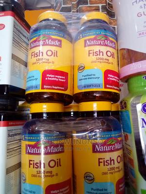 Nature Made Fish Oil 1200mg (360mg Omega-3 ) 200 Liguid Soft | Vitamins & Supplements for sale in Lagos State, Amuwo-Odofin