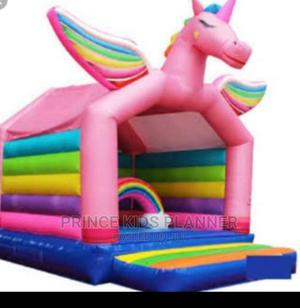 Unicorn Party Size Bouncy Castle For Rent | Party, Catering & Event Services for sale in Lagos State, Ikeja
