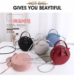 Round Mobile Phone Mini Bag (Available in Blue and Red Wine) | Bags for sale in Lagos State, Ikorodu