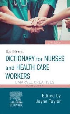 Dictionary for Nurses and Health Care Workers   Books & Games for sale in Lagos State, Surulere