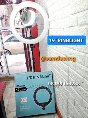 19'' Inch Ringlight With Remote, Mirror, Phone Holder | Accessories & Supplies for Electronics for sale in Lagos State, Gbagada