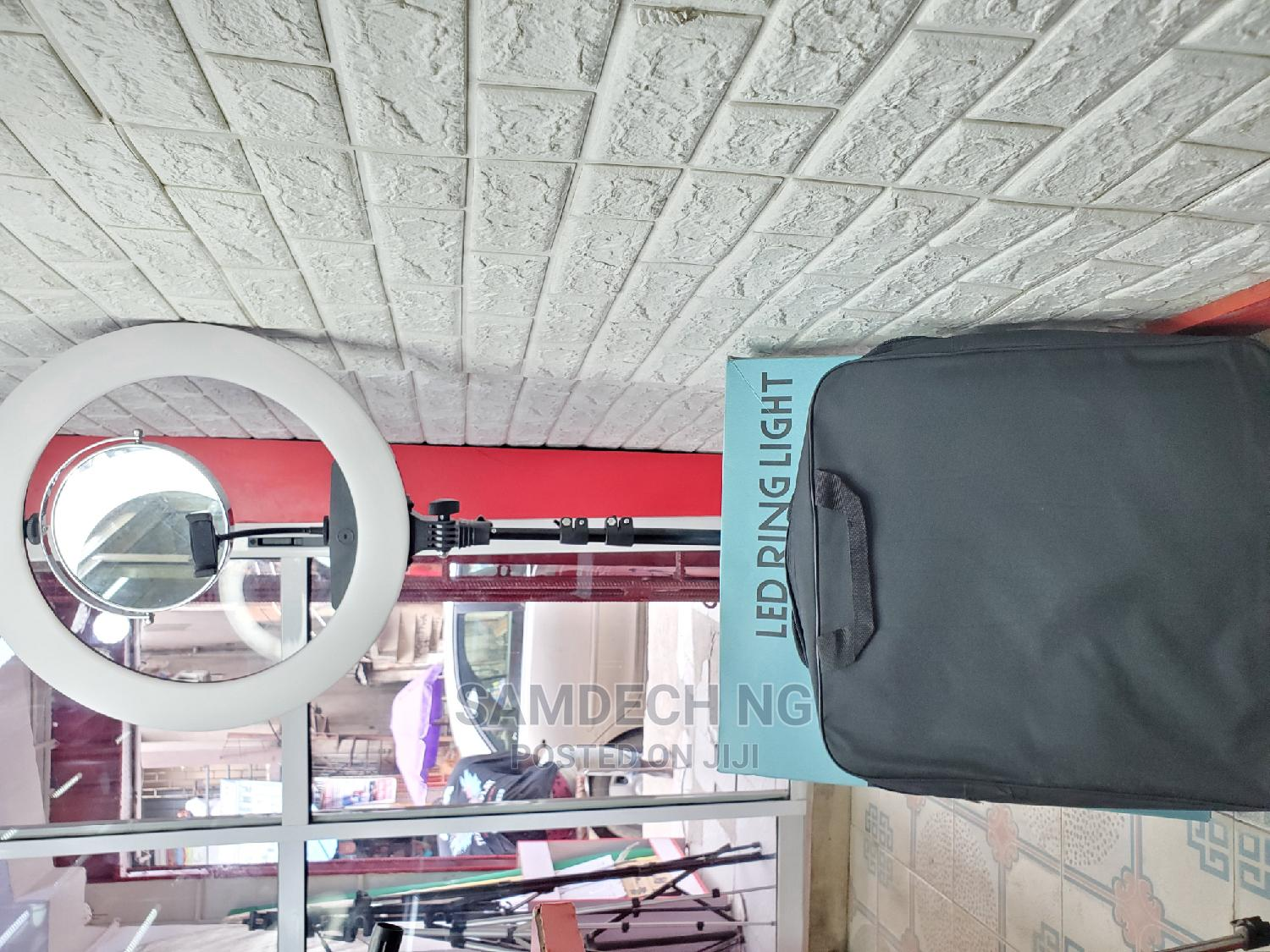 19'' Inch Ringlight With Remote, Mirror, Phone Holder | Accessories & Supplies for Electronics for sale in Gbagada, Lagos State, Nigeria