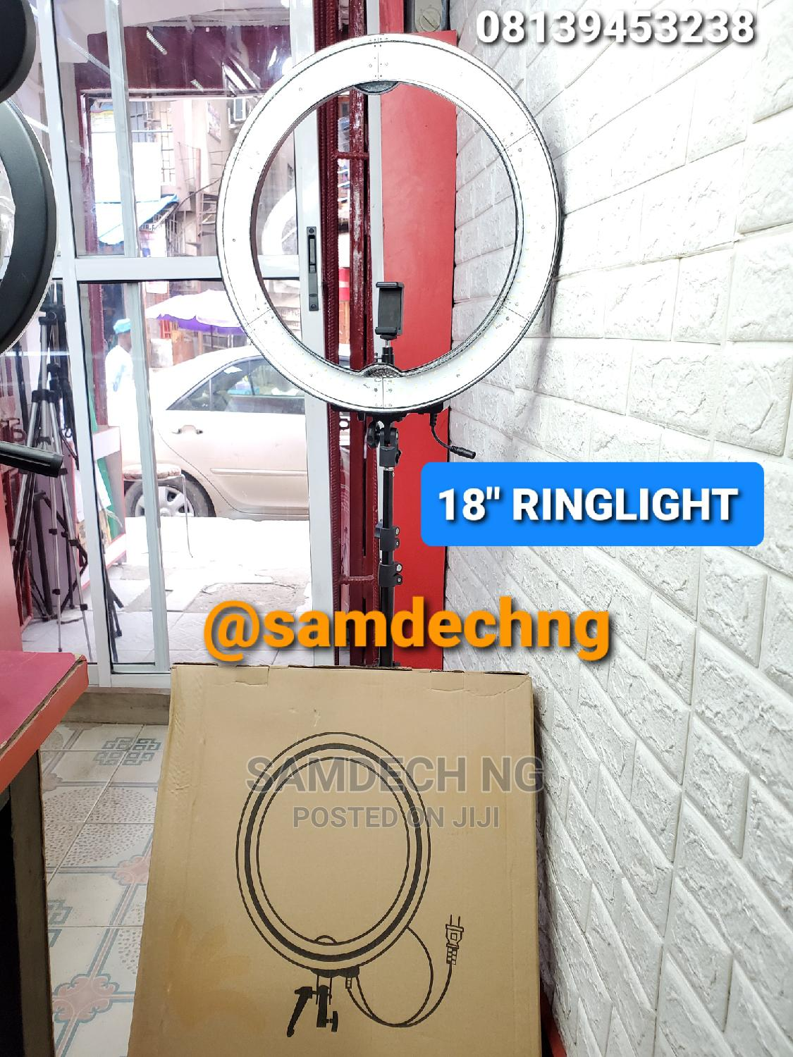 Universal 18inchs LED Ring Light Professional Makeup