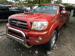 Toyota Tacoma 2011 Access Cab V6 Automatic Red | Cars for sale in Lagos State, Apapa