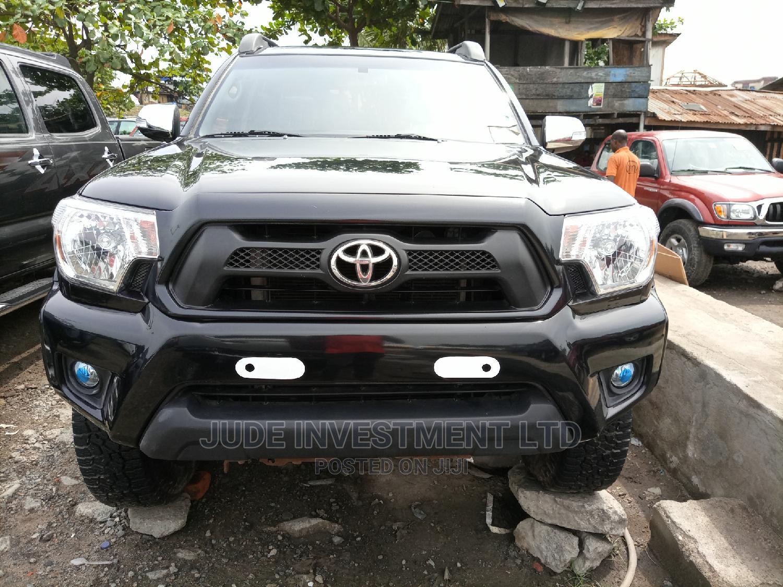 Toyota Tacoma 2014 Black