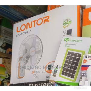 Lontor Rechargeable Wall Fan | Home Appliances for sale in Lagos State, Ojo