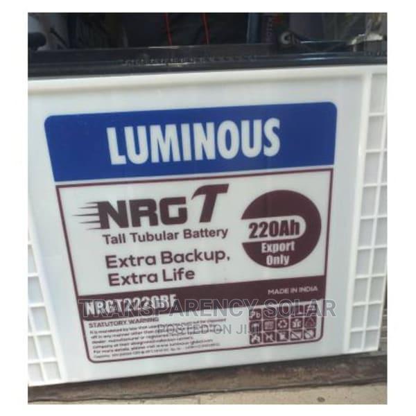 Archive: Luminous 220ah-12v Tubular Battery