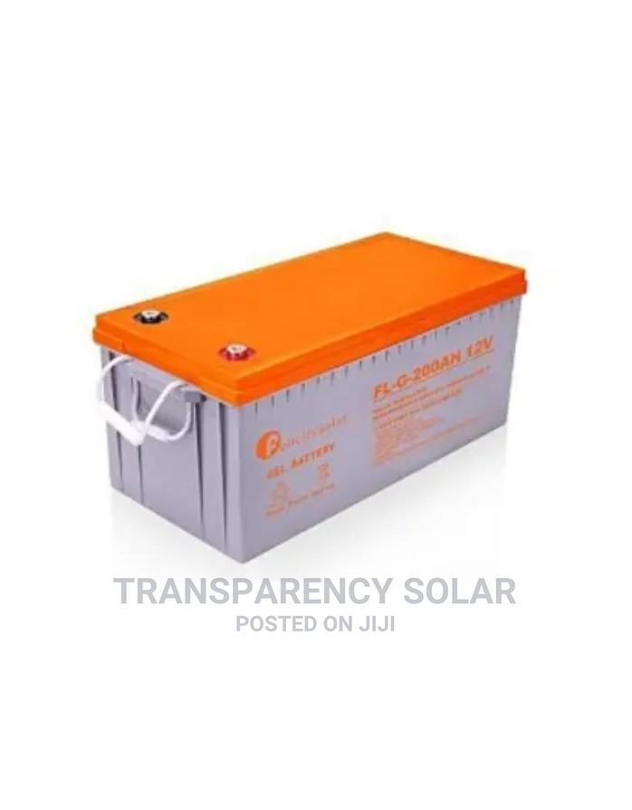 Felicity Solar Gel Inverter Battery 200ah/12v
