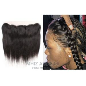 Straight Ear to Ear Lace Frontal Hair Closure   Hair Beauty for sale in Lagos State, Alimosho